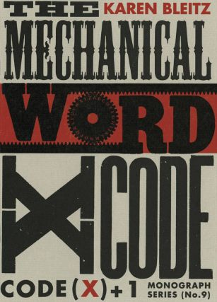 THE MECHANICAL WORD.