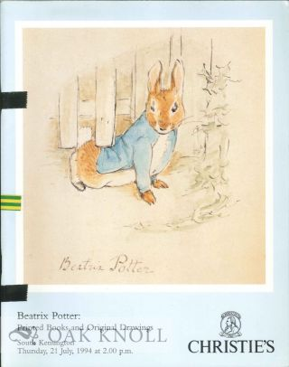 BEATRIX POTTER: PRINTED BOOKS AND ORIGINAL DRAWINGS