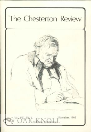 THE CHESTERTON REVIEW. Ian Boyd