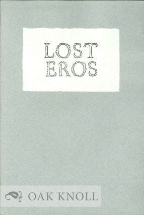 LOST EROS. Thomas Ashe