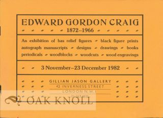 EDWARD GORDON CRAIG 1872-1966