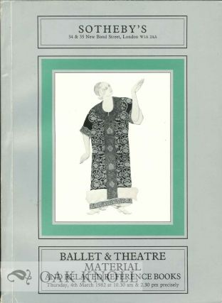 BALLET & THEATRE MATERIAL AND RELATED REFERENCE BOOKS