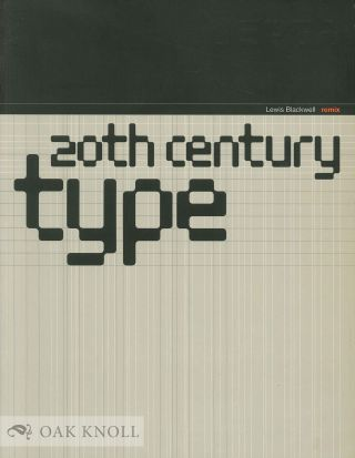 20TH CENTURY TYPE. Lewis Blackwell