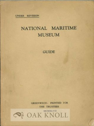 NATIONAL MARITIME MUSEUM GUIDE