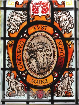 RENAISSANCE PRINTERS' DEVICES: ESSAYS ON THE EARLY ART OF PRINTING & THE KING MEMORIAL WINDOWS OF JOHNS HOPKINS UNIVERSITY.