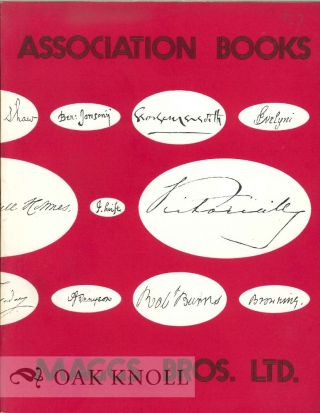 ASSOCIATION BOOKS: A CATALOGUE OF BOOKS FROM FAMOUS LIBRARIES.