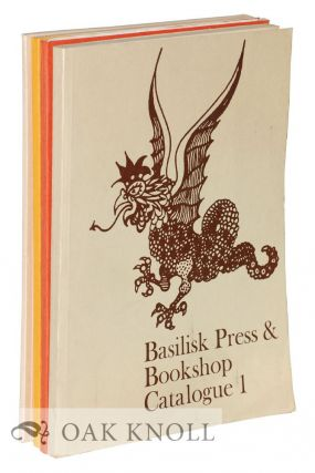 BASILISK PRESS & BOOKSHOP CATALOGUE.