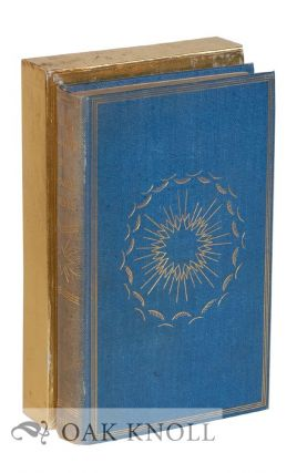 SARTOR RESARTUS, THE LIFE AND OPINIONS OF HERR TEUFELSDROCKH. Thomas Carlyle