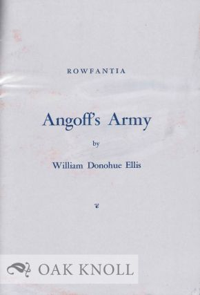 ANGOFF'S ARMY. William Donohue Ellis