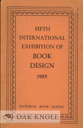 FIFTH INTERNATIONAL EXHIBITION OF BOOK DESIGN 1955