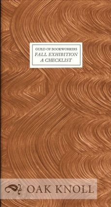 NEW ENGLAND CHAPTER FALL EXHIBITION