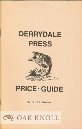 DERRYDALE PRESS PRICE GUIDE