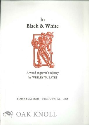 PROSPECTUS FOR IN BLACK & WHITE: A WOOD ENGRAVER'S ODDYSSEY