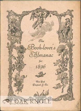 BOOK-LOVER'S ALMANAC FOR THE YEAR1896.