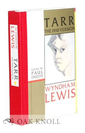 TARR THE 1918 VERSION. Wyndham Lewis