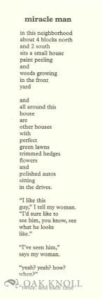 OPEN ALL NIGHT: NEW POEMS.