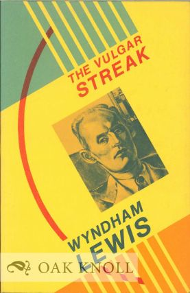 THE VULGAR STEAK. Wyndham Lewis