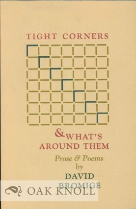 TIGHT CORNERS & WHAT'S AROUND THEM (BEING THE BRIEF & ENDLESS ADVENTURES OF SOME PRONOUNS IN THE...