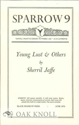 YOUNG LUST & OTHERS. SPARROW 9. Sherril Jaffe