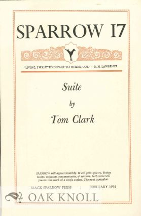 SUITE. SPARROW 17. Tom Clark