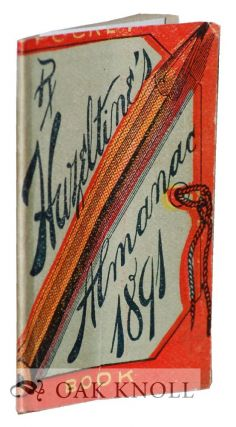 HAZELTINE' S POCKET BOOK ALMANAC 1891