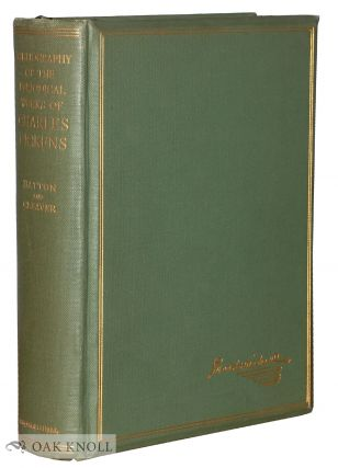 A BIBLIOGRAPHY OF THE PERIODICAL WORKS OF CHARLES DICKENS. Thomas Hatton, Arthur H. Cleaver