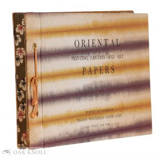 ORIENTAL PRINTING, FANTASY AND ART PAPERS.