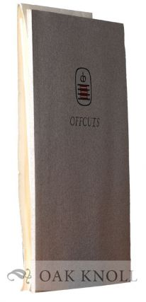 OFFCUTS, THE CAMPBELL-LOGAN BINDERY'S SUGGESTIONS FOR SUCCESSFUL BOOK BINDING