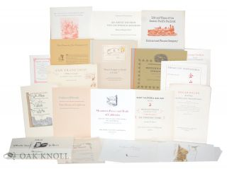 Collection of Prospectuses and Keepsakes.
