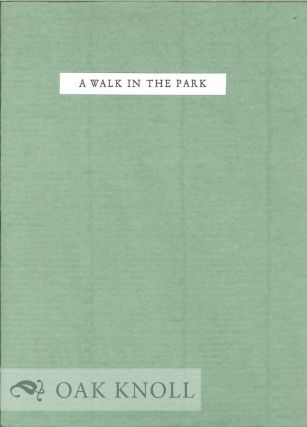 A WALK IN THE PARK. David Mason