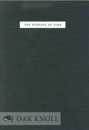 THE PURPOSE OF TIME. X. J. Kennedy