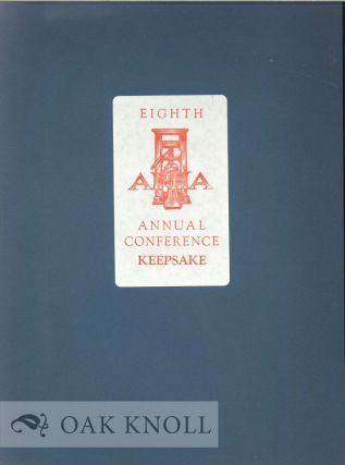 EIGHTH APHA ANNUAL CONFERENCE KEEPSAKE