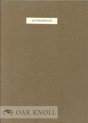 AFTERSHOCKS. A. E. Stallings