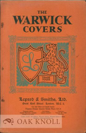 THE WARWICK COVERS. Lepard, Smiths