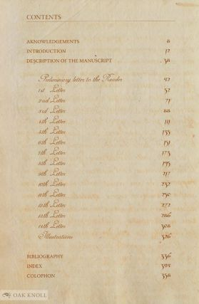 LETTERS HISTORIC AND ENTERTAINING ON THE PAST AND PRESENT CONDITIONS OF THE ISLAND OF CYPRUS WRITTEN BY NAMINDIÙ LA MANON IN PROVENCE, YEAR 1785
