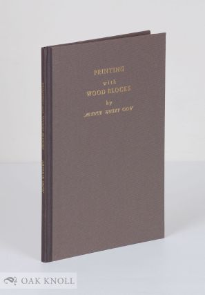 PRINTING WITH WOOD BLOCKS. Arthur Wesley Dow