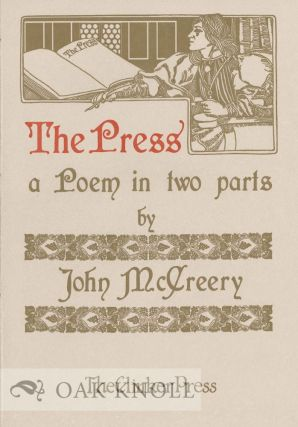 THE PRESS: A POEM IN TWO PARTS.
