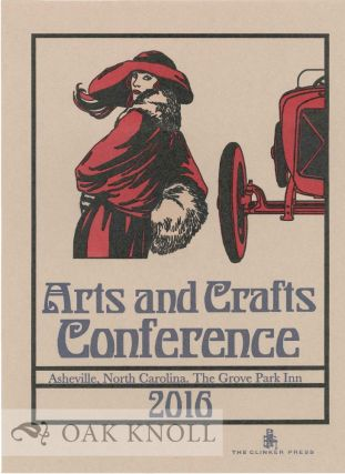 ARTS AND CRAFTS CONFERENCE.