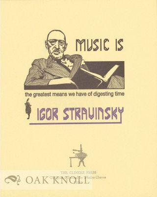 SIX QUOTES FROM 20TH CENTURY COMPOSERS.