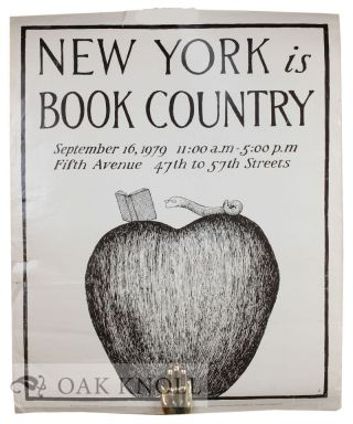 NEW YORK IS BOOK COUNTRY.