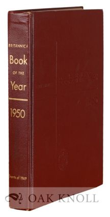 1950 BRITANNICA BOOK OF THE YEAR