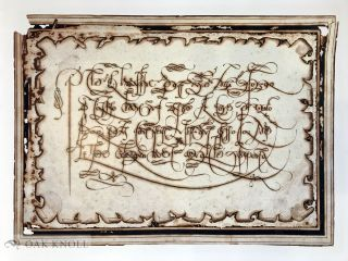THE GLORY OF THE ART OF WRITING: THE CALLIGRAPHIC WORK OF FRANCESCO ALUNNO OF FERRARA