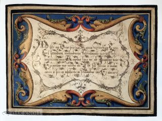 THE GLORY OF THE ART OF WRITING: THE CALLIGRAPHIC WORK OF FRANCESCO ALUNNO OF FERRARA.
