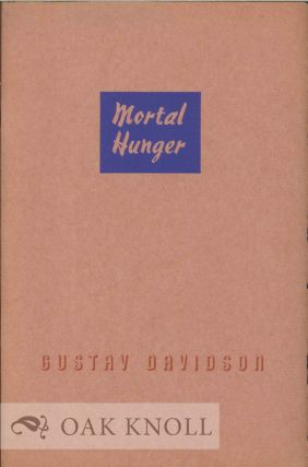 MORTAL HUNGER