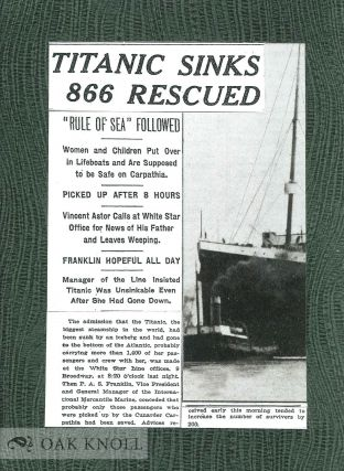 LOST ON THE TITANIC THE STORY OF THE GREAT OMAR.