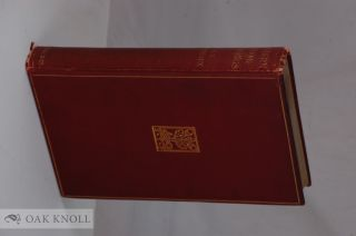 MODERN BOOKBINDINGS:THEIR DESIGN AND DECORATION. S. T. Prideaux