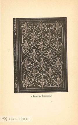 MODERN BOOKBINDINGS:THEIR DESIGN AND DECORATION.