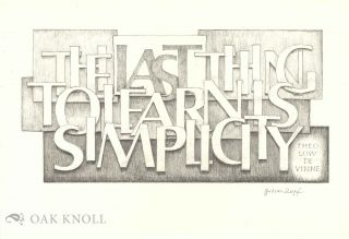 GUDRUN ZAPF VON HESSE: BINDINGS HANDWRITTEN BOOKS TYPEFACES EXAMPLES OF LETTERING AND DRAWINGS.