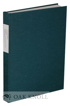 A TYPOGRAPHIC JOURNEY: THE HISTORY OF THE GREENWOOD PRESS AND BIBLIOGRAPHY, 1934-2000. Jack W....
