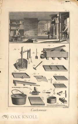 Collection of Material Related to Printing and Alphabets from Diderot's Encyclopédie